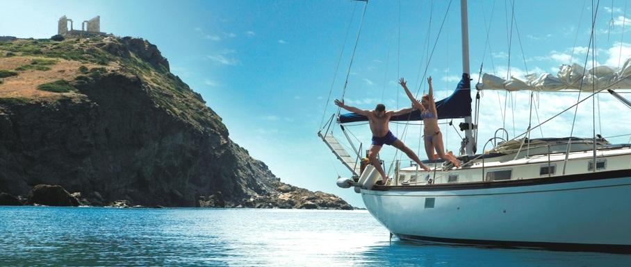 Jedrenje u Grčkoj