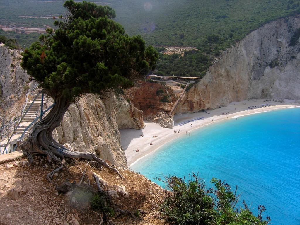 Lefkada, plaža Porto Kaciki