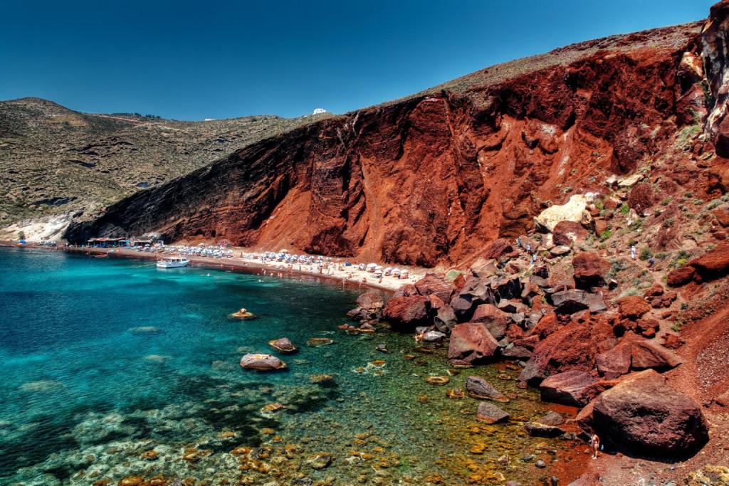Santorini crvena plaža